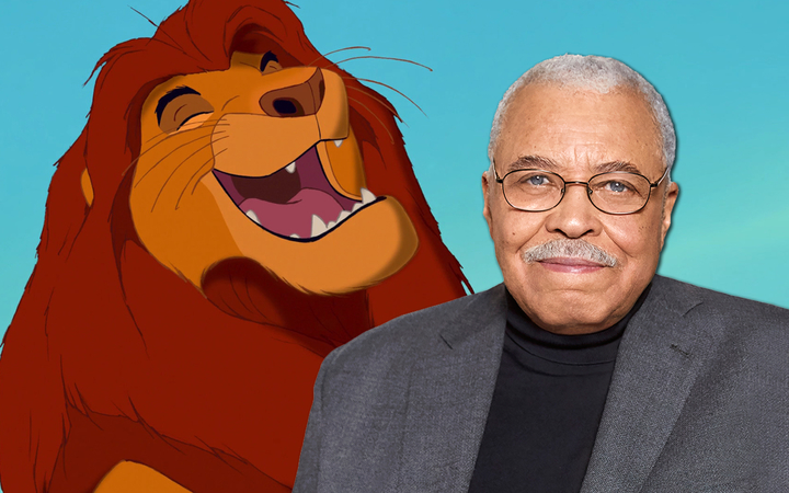 "James Earl Jones Returning as Mufasa for Live Action ""Lion ..."
