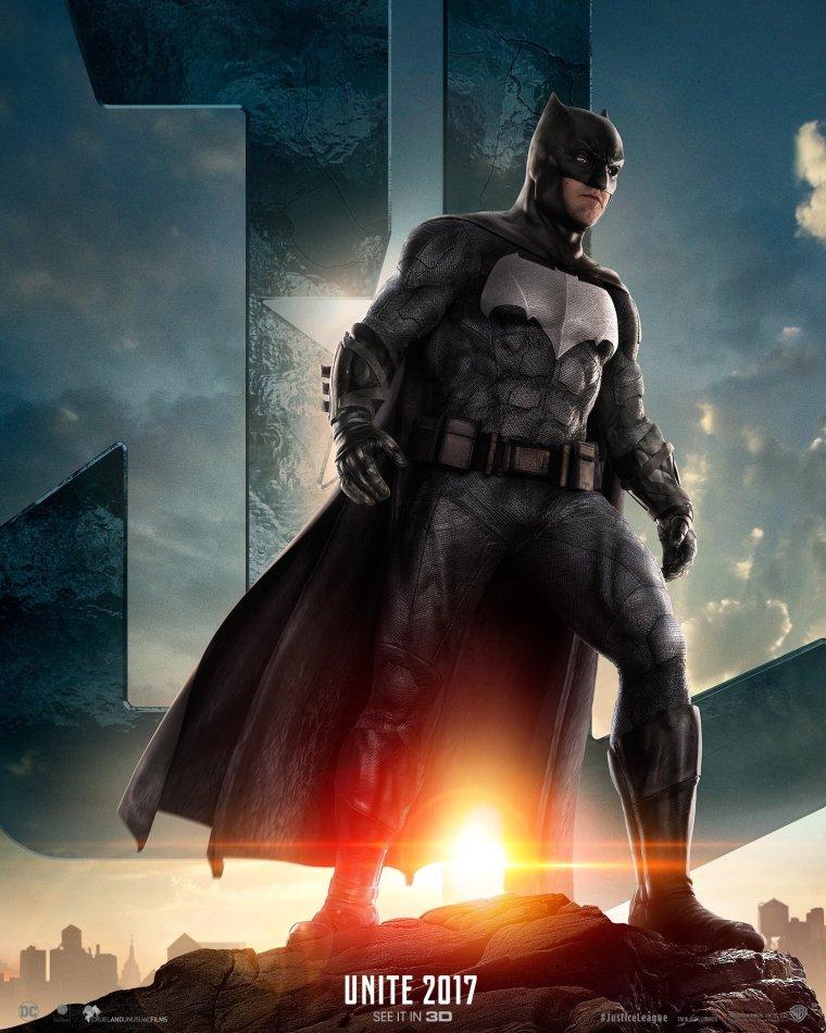 justice league-batman poster