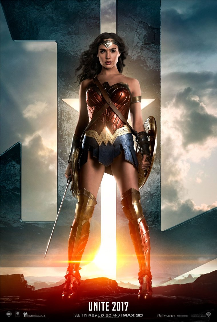 justice league-wonder woman poster