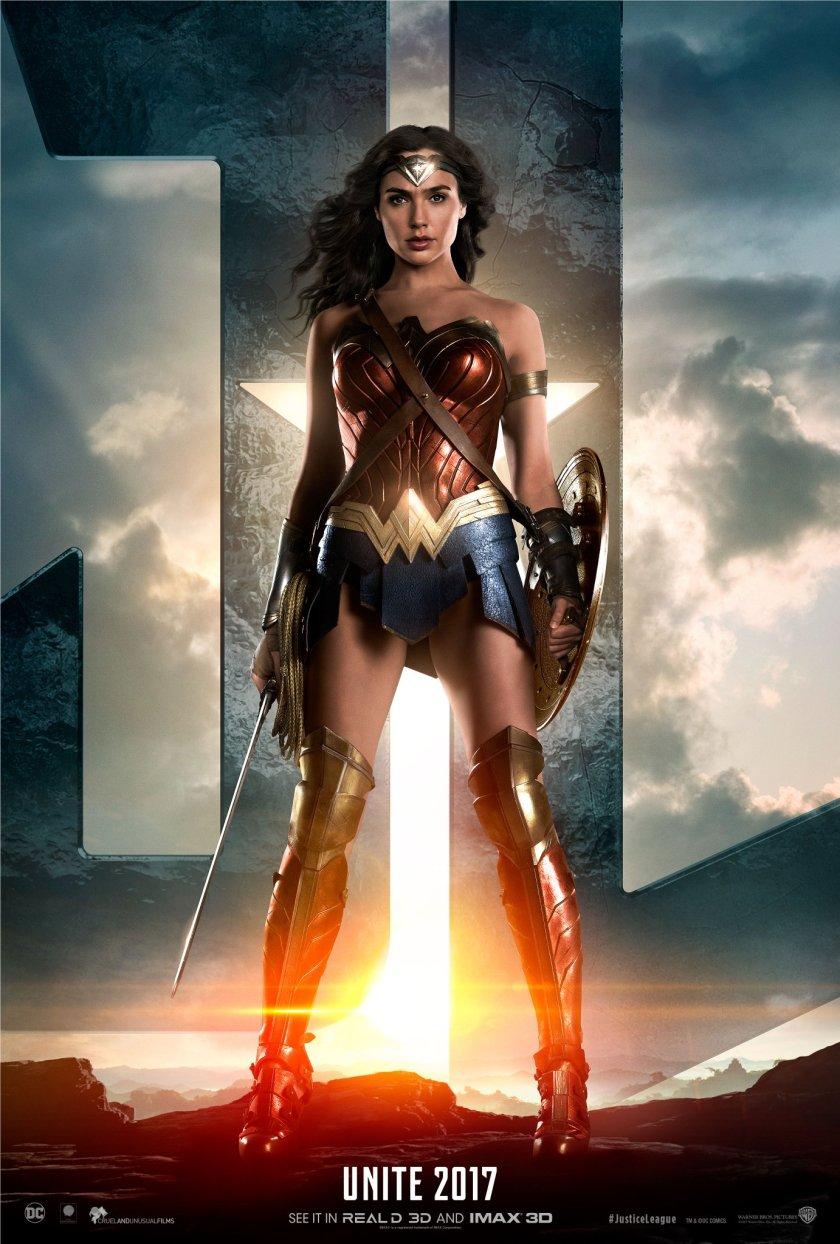 justice league-wonder woman poster