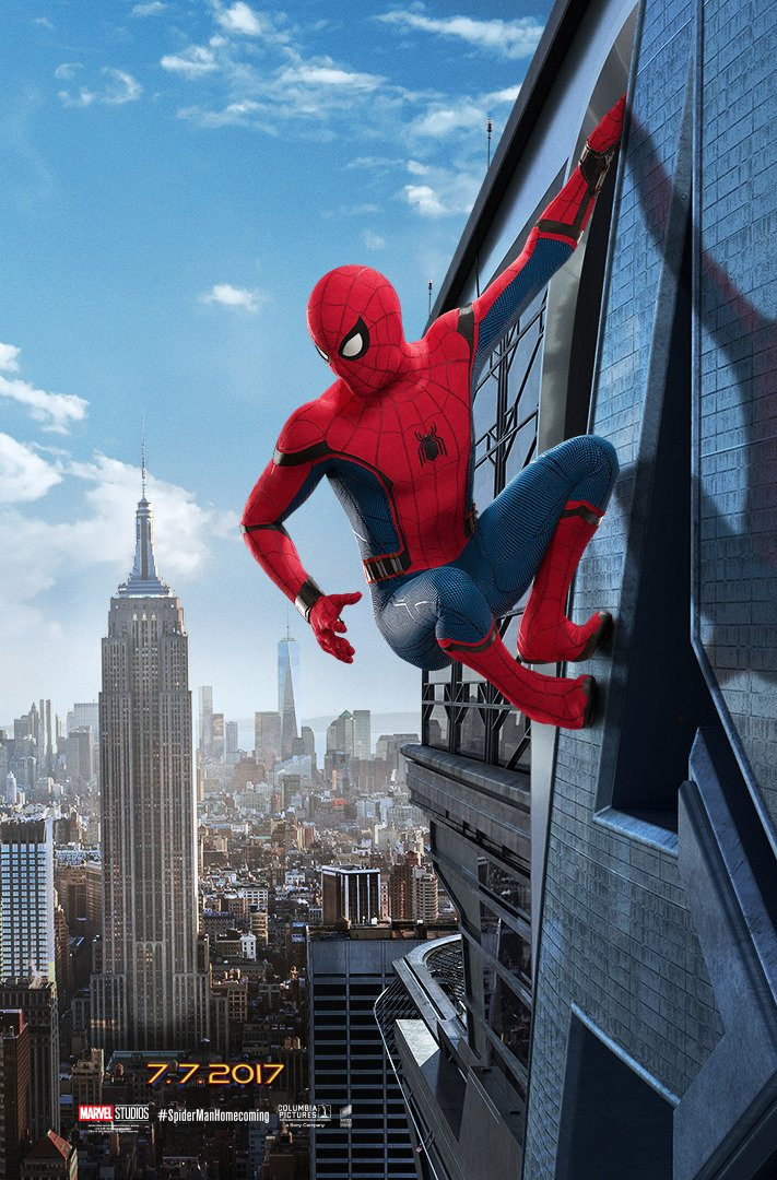 spiderman poster-empire state