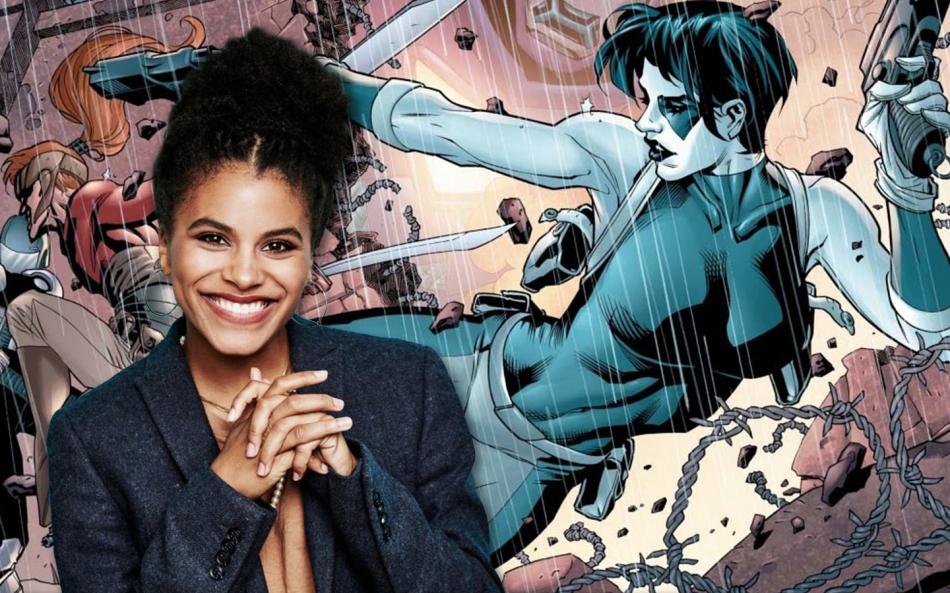 Atlanta S Zazie Beetz Cast As Deadpool 2 S Domino Geeks Of
