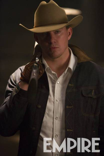 Channing Tatum as Agent Tequila in Kingsman: The Golden Circle