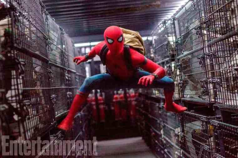 Spider-Man-in-van-in-Homecoming