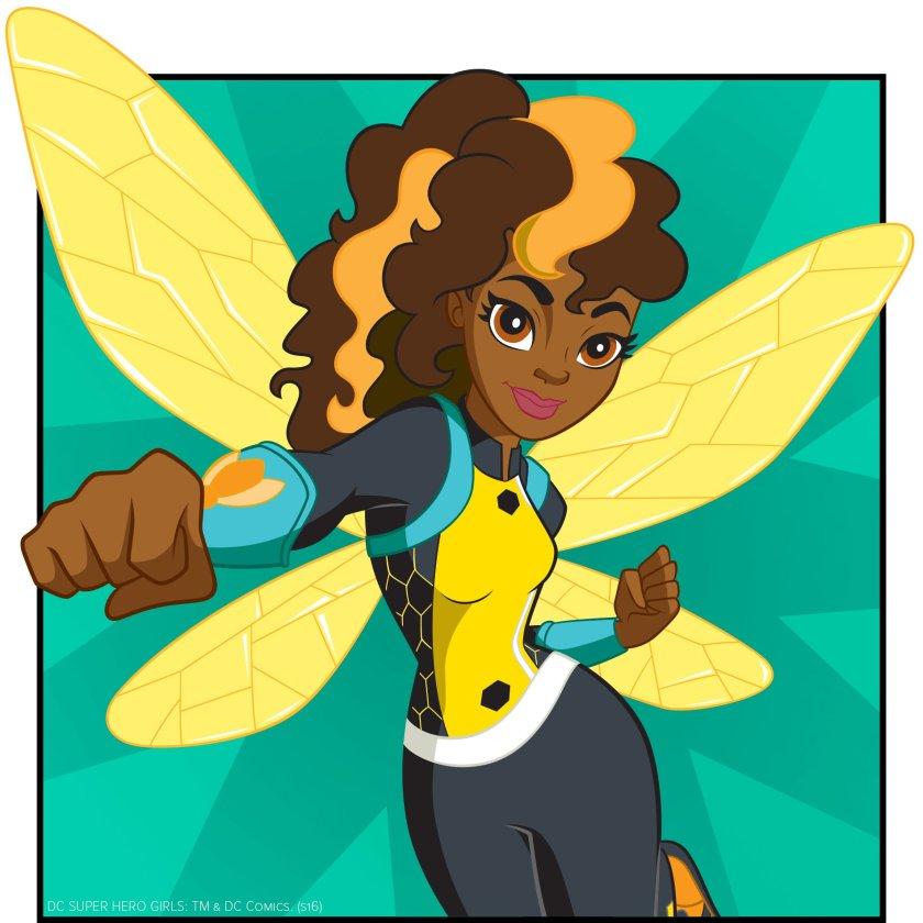 dc superhero girls_bumblebee