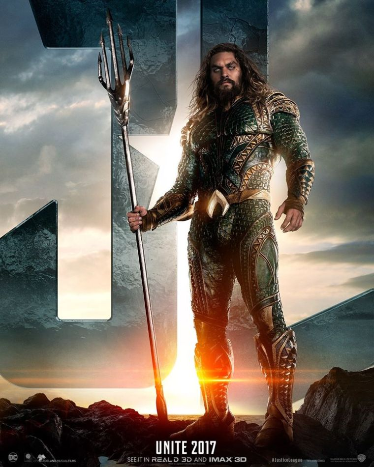 justice league-aquaman poster