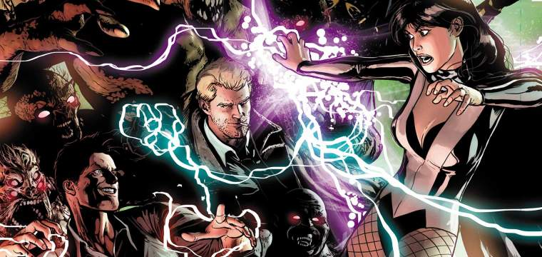 justice league dark splash