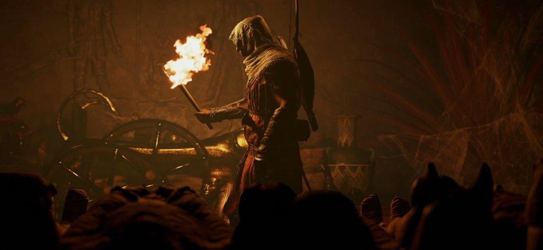 Assassin's Creed Origins Bayek character