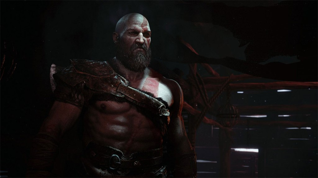 Kratos in God of War 2018 courtesy of PlayStation