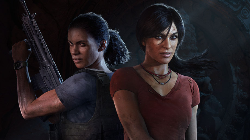 Nadine and Chloe Uncharted The Lost Legacy courtesy of PlayStation
