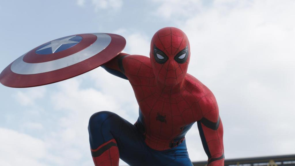 Photo Courtesy of Walt Disney Co./Marvel/Sony spider man in civil war