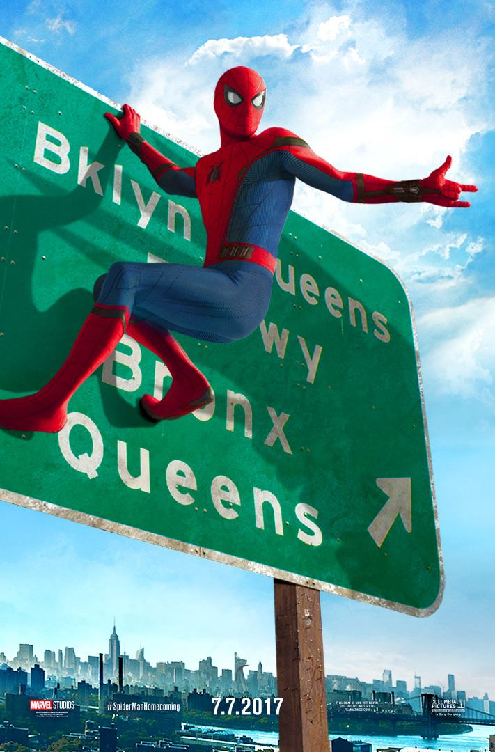 spiderman poster-sign