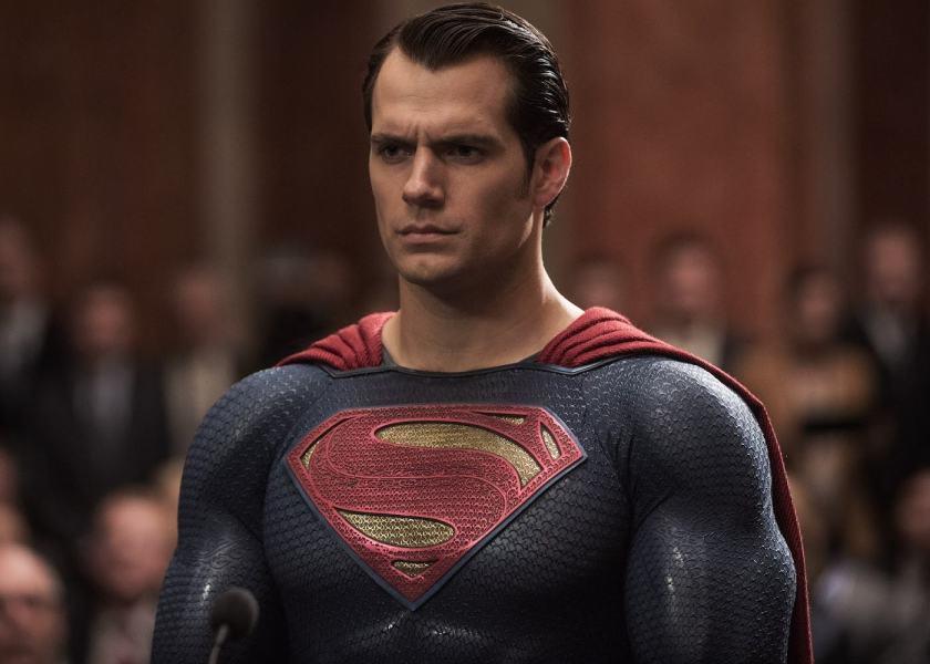 Henry Cavill's Superman in BvS courtesy of Warner Bros.