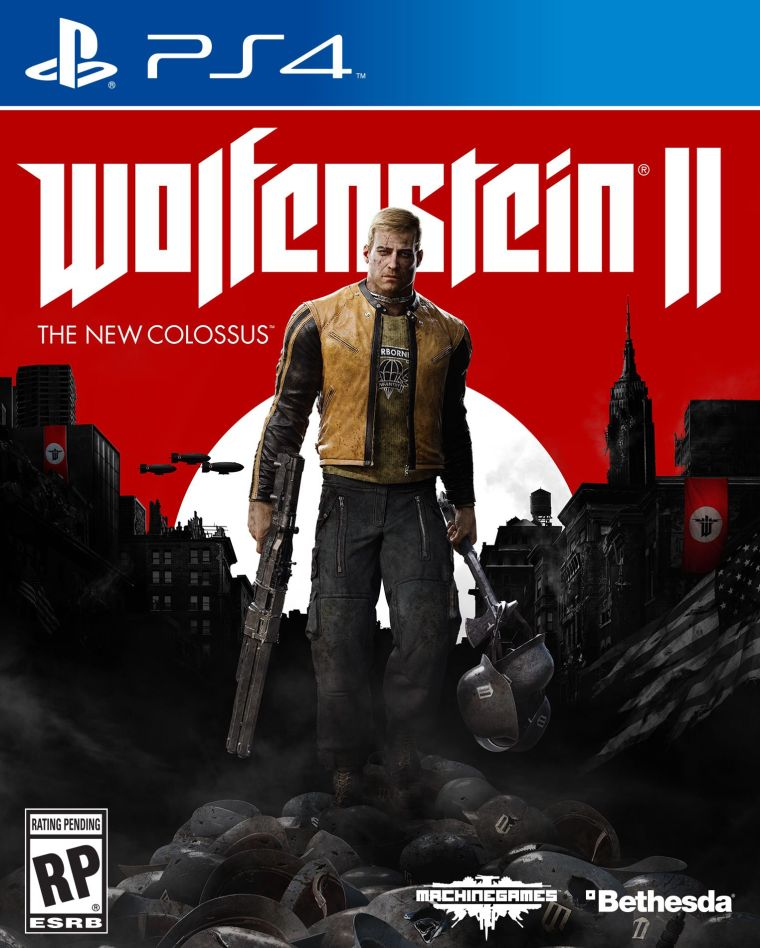 Wolfenstein 2 ps4 box art courtesy of Bethesda