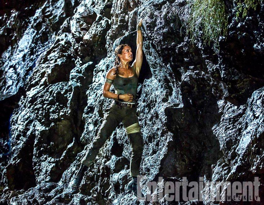 Alicia Vikander's Lara Croft