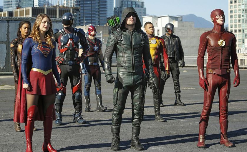 Arrowverse Invasion! Crossover