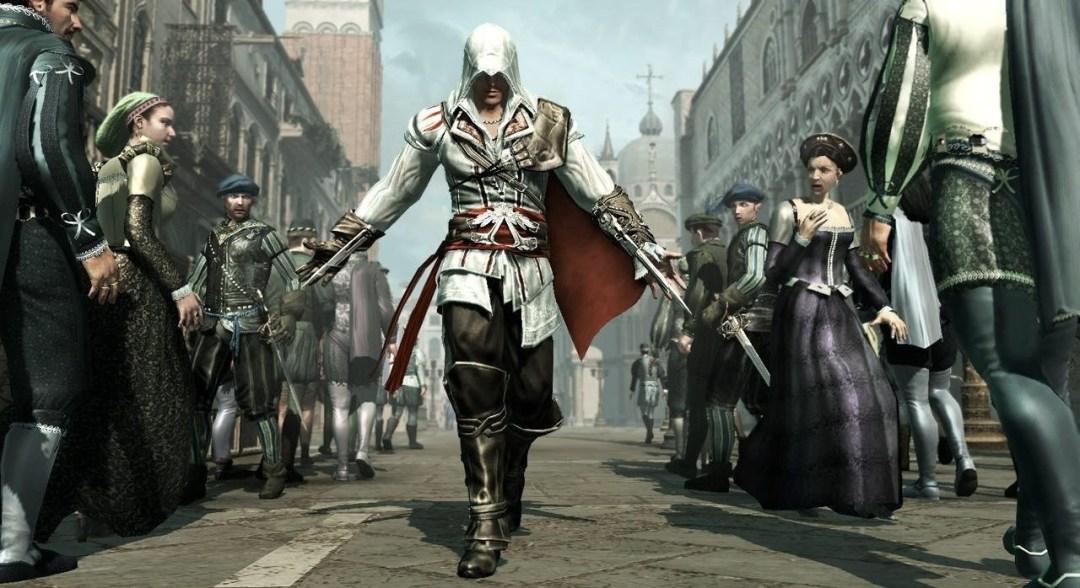 Assassin's Creed 2 Ezio courtesy of Ubisoft