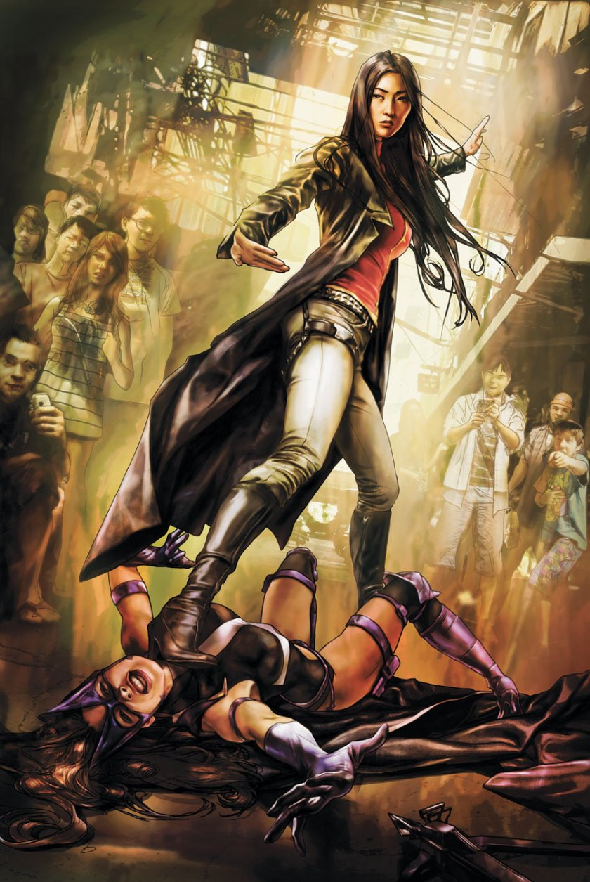 Lady Shiva and Huntress in Birds of Prey Courtesy of DC