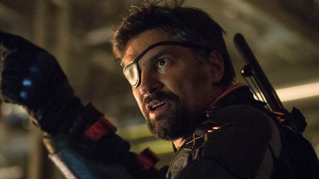 Photo Courtesy of The CW Manu Bennett Deathstroke