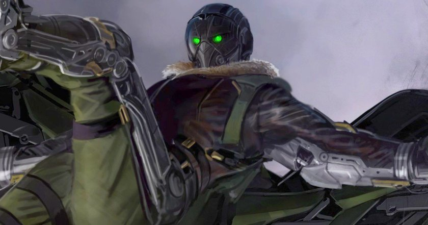 Spider-Man Homecoming Vulture Concept art