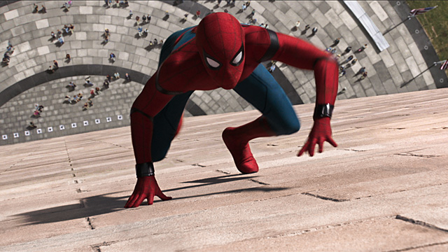 spiderman in DC