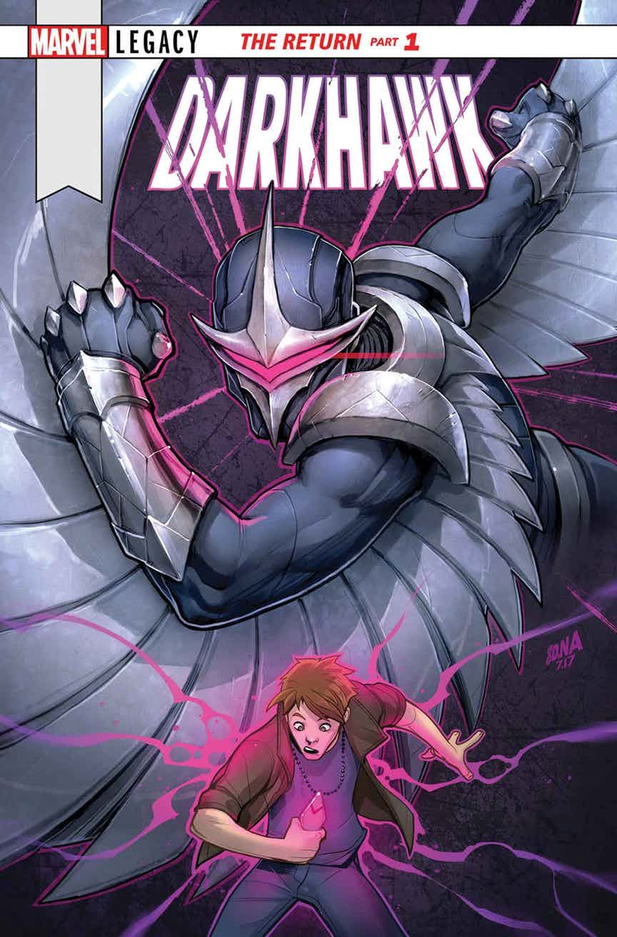 COMICS: Darkhawk's Solo One-Shot In Marvel Legacy Further