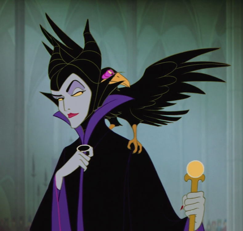 Maleficent sleeping beauty