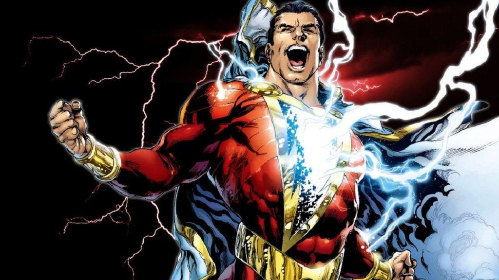 Shazam courtesy of DC
