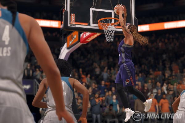 WNBA in NBA Live 2018