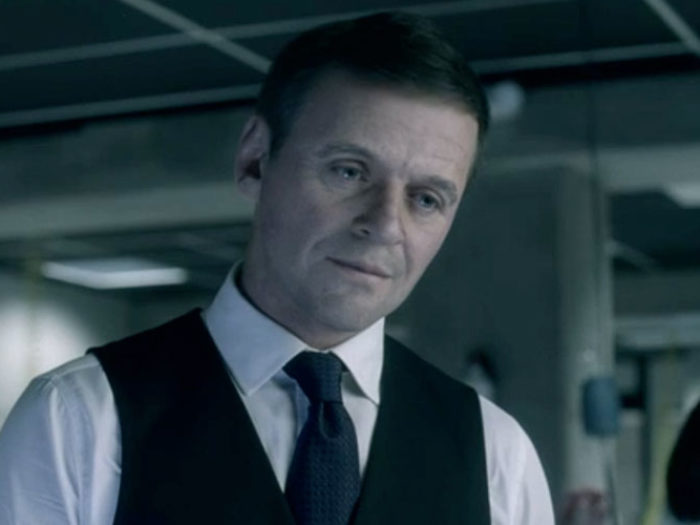 De-Aged Anthony Hopkins in Westworld Courtesy of HBO