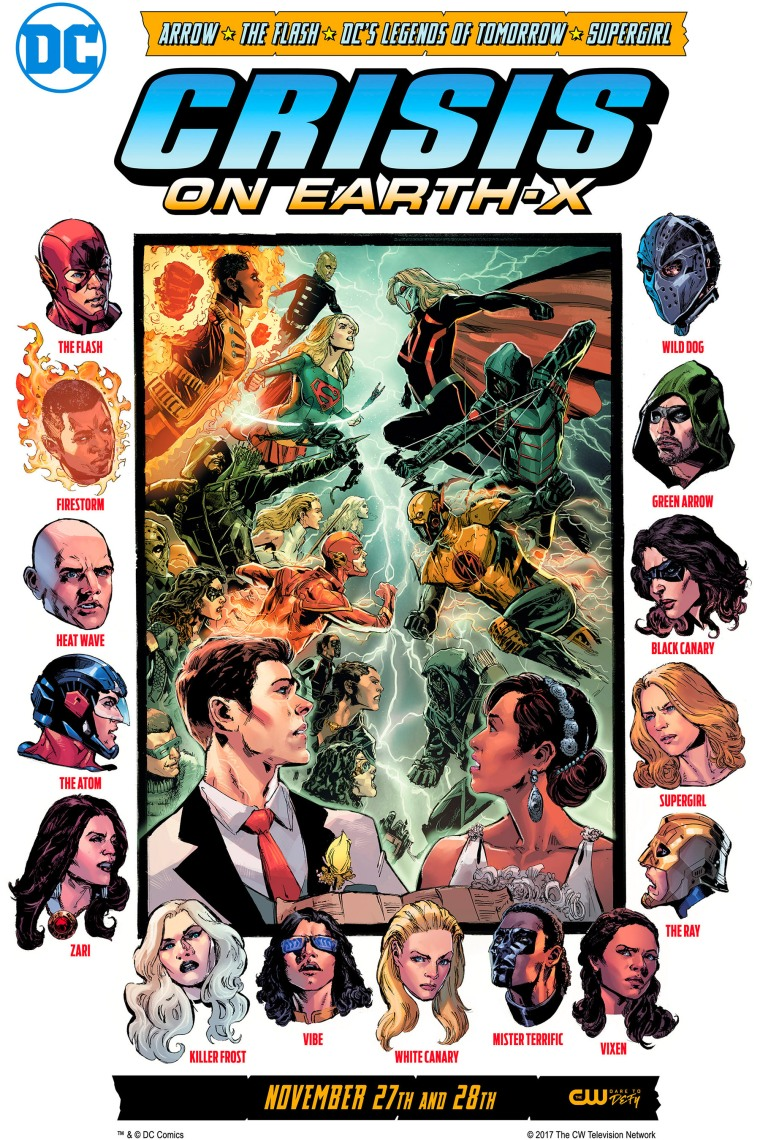 Crisis on Earth-X by Phil Jimenez Courtesy of DC