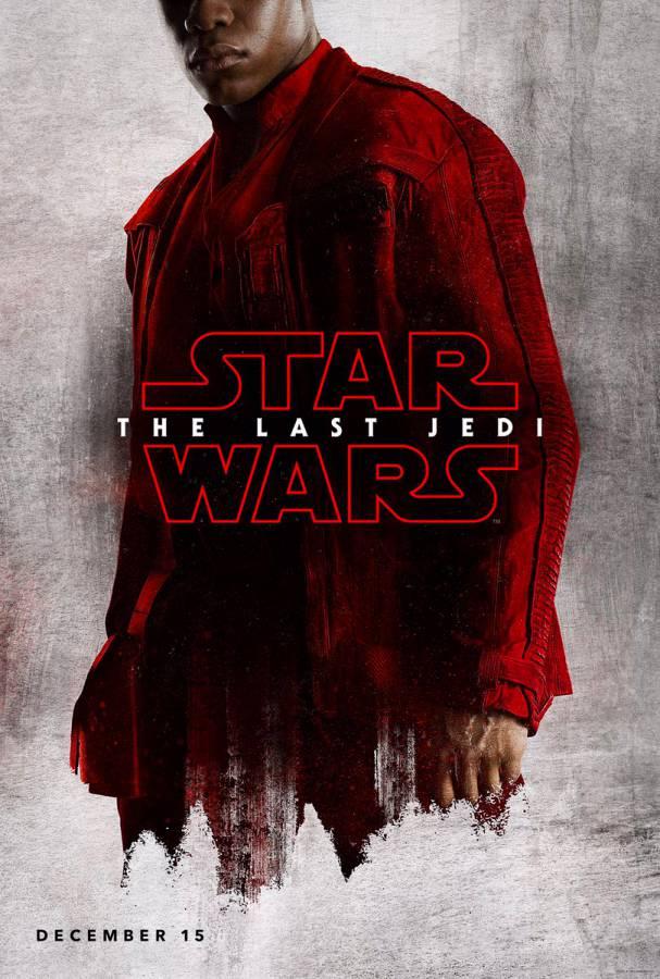 Finn The Last Jedi poster