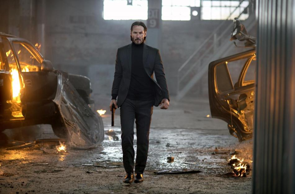 Keanu Reeves as John Wick Courtesy of Lionsgate