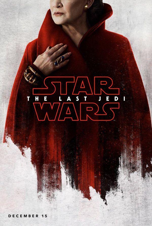 Leia-The Last Jedi poster