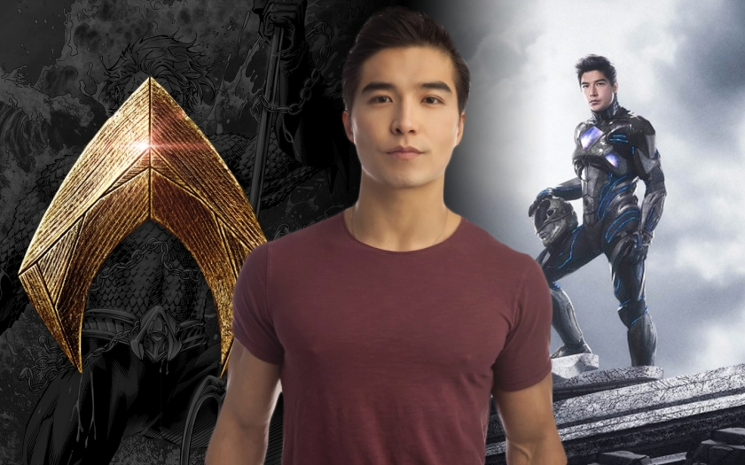 """Ludi Lin Talks About 'Aquaman' Being """"Star Wars Underwater"""" and an Unseen Scene in 'PowerRangers'"""