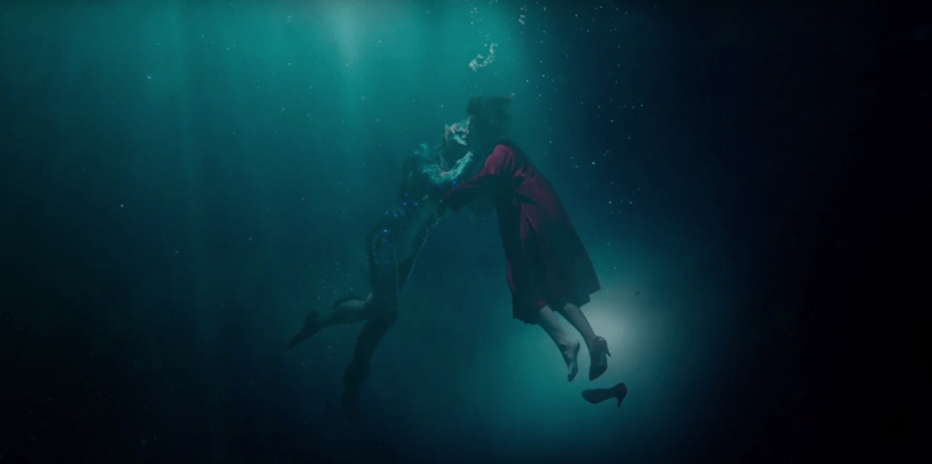 The Shape of Water Kiss