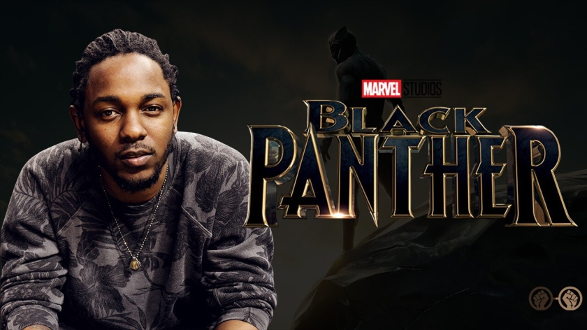 KENDRICK LAMAR PRODUCED THE THEME SONG FOR THE 'BLACK PANTHER' SOUNDTRACK ile ilgili görsel sonucu