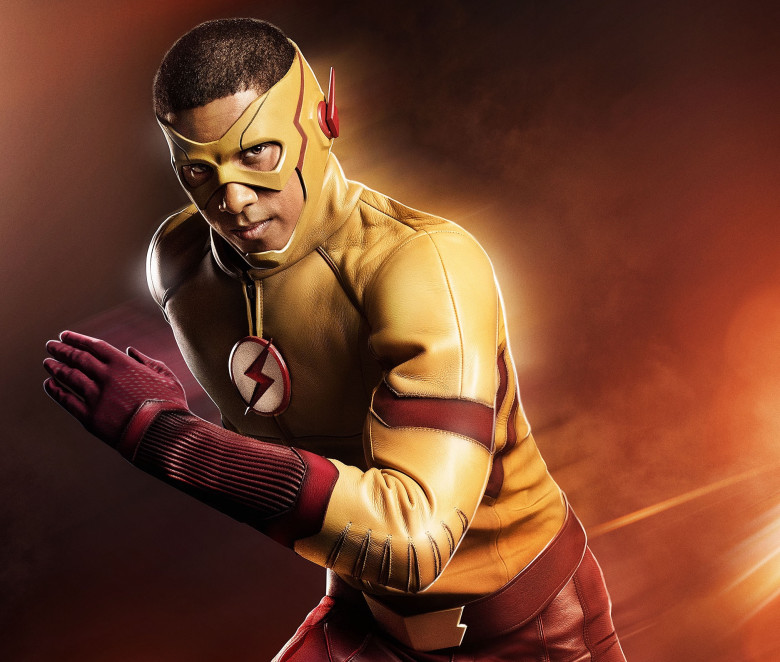 Keiynan Lonsdale as Wally West/Kid Flash Courtesy of The CW