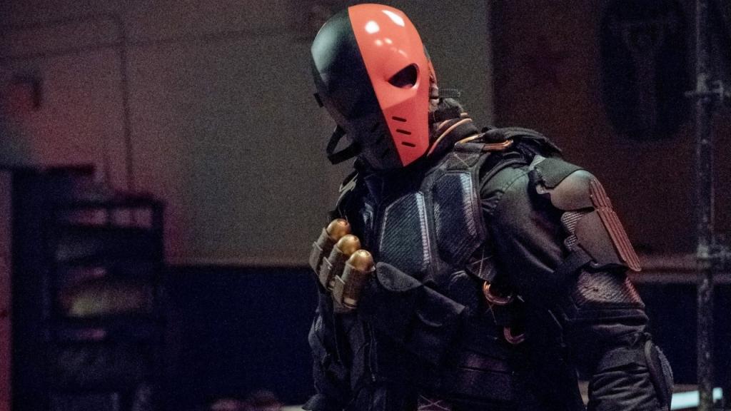 Manu Bennett's Deathstroke in Arrow Season 6
