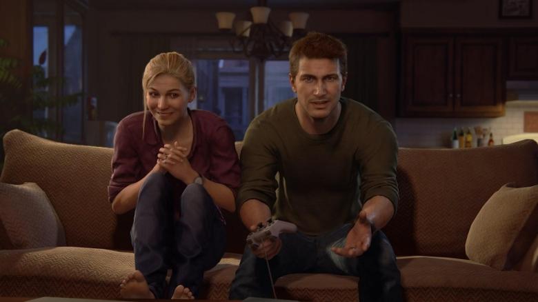 Uncharted 4 Drake and Elena