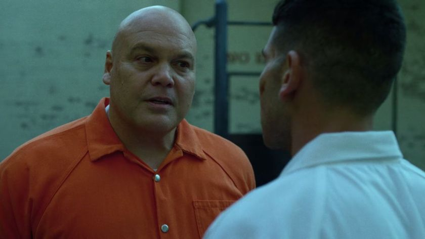 Wilson Fisk and Frank Castle Courtesy of Marvel/Netflix