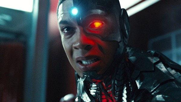 Ray Fisher's Cyborg in Justice League Courtesy of WB