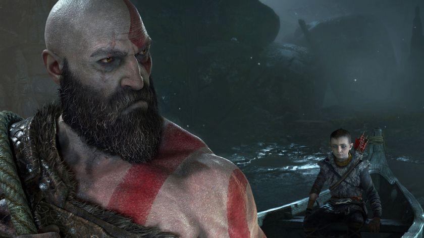 Kratos in God of War PS4