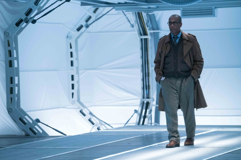 Joe Morton as Silas Stone in Justice League Courtesy of WB