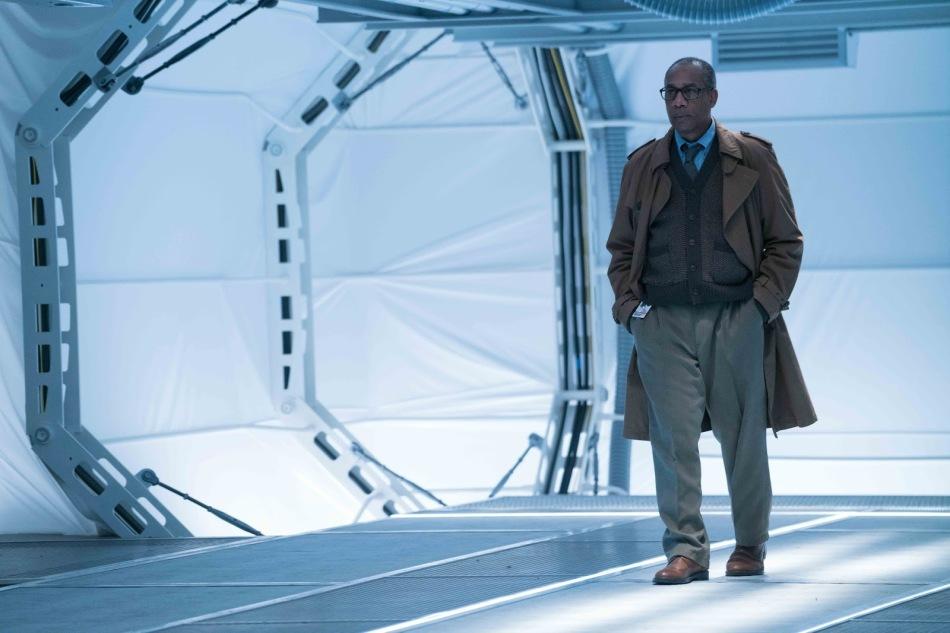 Joe Morton as Silas Stone in Justice League Courtesy of WB