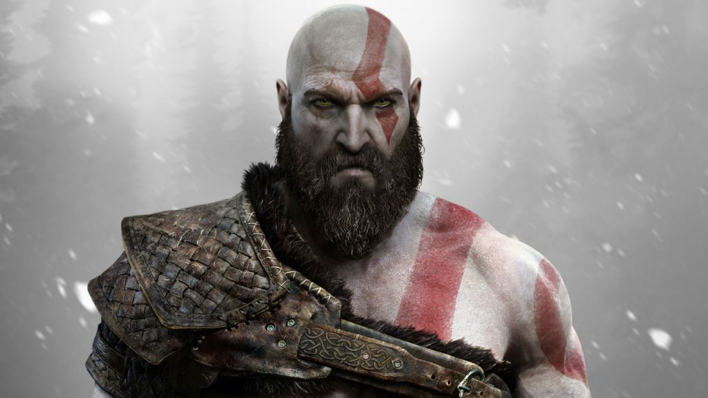 Kratos in God of War 2018