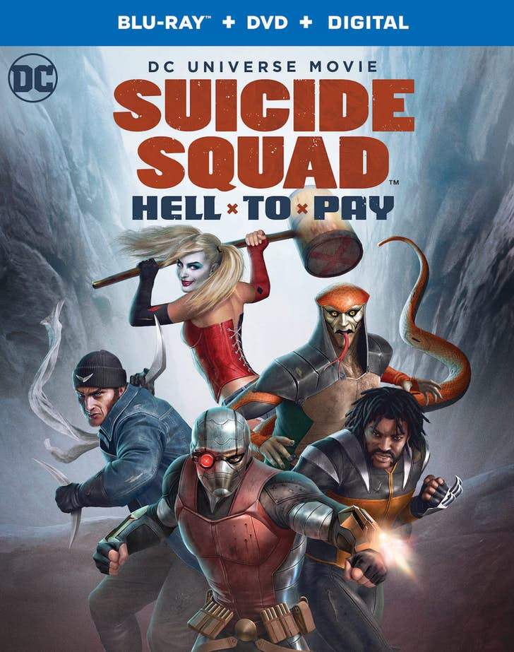 Suicide Squad Hell to Play Box Art