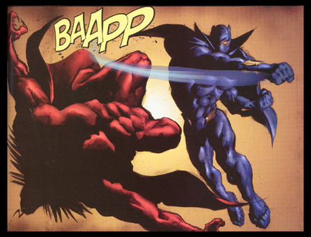 Image result for black panther punches mephisto