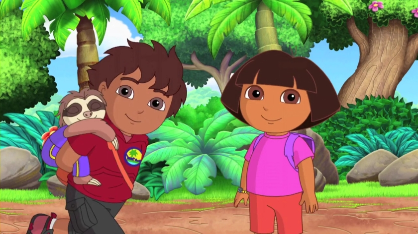 Dora and Diego Courtesy of Nickelodeon