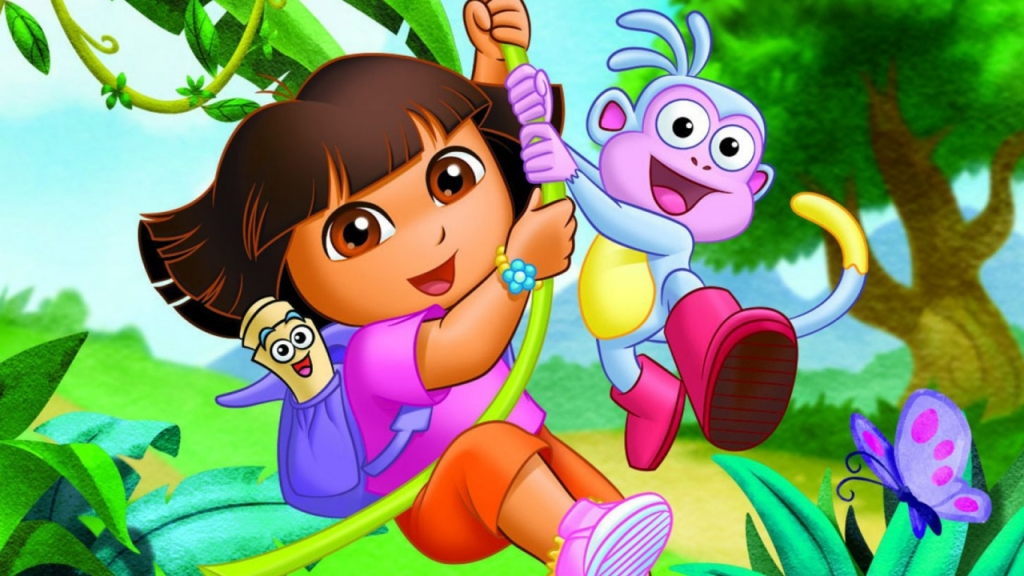 Dora the Explorer Courtesy of Nickelodeon